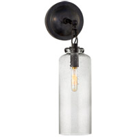 Visual Comfort TOB2225BZ/G3-SG Thomas OBrien Katie 1 Light 5 inch Bronze Decorative Wall Light in Seeded Glass