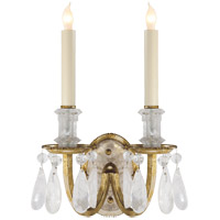 Visual Comfort TOB2236GI Thomas Obrien Elizabeth 2 Light 10 inch Gilded Iron Decorative Wall Light