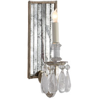 Visual Comfort TOB2237BSL Thomas Obrien Elizabeth 1 Light 5 inch Burnished Silver Leaf Decorative Wall Light