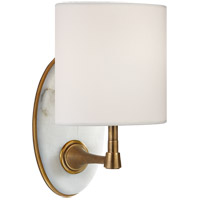 Visual Comfort TOB2242HAB/ALB-L Thomas Obrien Casper 1 Light 6 inch Hand-Rubbed Antique Brass and Alabaster Sconce Wall Light, Small