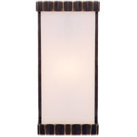 Visual Comfort TOB2252BZ-WG Thomas O'Brien Paulina Zig Zag 1 Light 5 inch Bronze Bath Wall Light