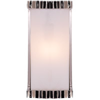 Thomas OBrien Zig Zag 1 Light 5 inch Polished Nickel Bath Wall Light