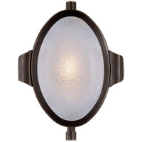 Visual Comfort Thomas OBrien Patrick 1 Light Swing-Arm Wall Light in Bronze with Frosted Glass Shade TOB2261BZ-FG