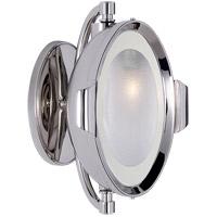 Visual Comfort TOB2261PN-FG Thomas OBrien Patrick 6 inch 60 watt Polished Nickel Swing-Arm Wall Light