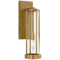 Visual Comfort TOB2275HAB-CG Thomas OBrien Calix 1 Light 5 inch Hand-Rubbed Antique Brass Bracketed Bath Sconce Wall Light