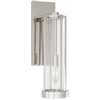 Visual Comfort TOB2275PN-CG Thomas OBrien Calix 1 Light 5 inch Polished Nickel Bracketed Bath Sconce Wall Light