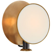 Thomas OBrien Osiris 1 Light 9 inch Bronze and Hand-Rubbed Antique Brass Reflector Wall Sconce Wall Light, Single