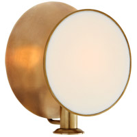Thomas OBrien Osiris 1 Light 9 inch Hand-Rubbed Antique Brass Reflector Wall Sconce Wall Light, Single