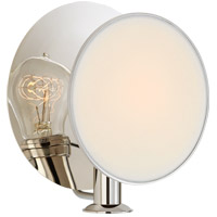 Visual Comfort TOB2290PN-L Thomas OBrien Osiris 1 Light 9 inch Polished Nickel Reflector Wall Sconce Wall Light Single