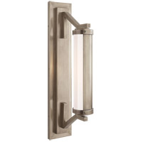Visual Comfort Thomas OBrien Eclipse 1 Light Bath Wall Light in Antique Nickel TOB2300AN