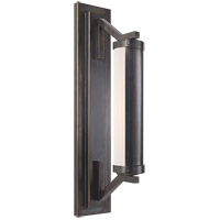 Visual Comfort Thomas OBrien Eclipse 1 Light Bath Wall Light in Bronze with Wax TOB2300BZ