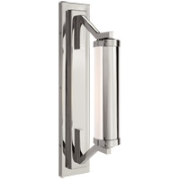 Visual Comfort Thomas OBrien Eclipse 1 Light Bath Wall Light in Polished Nickel TOB2300PN