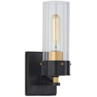 Thomas OBrien Marais 1 Light 4 inch Bronze and Hand-Rubbed Antique Brass Bath Sconce Wall Light, Medium