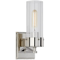 Thomas OBrien Marais 1 Light 4 inch Polished Nickel Bath Sconce Wall Light, Medium