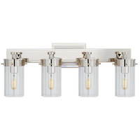 Thomas OBrien Marais 4 Light 20 inch Polished Nickel Bath Wall Light