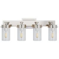 Visual Comfort TOB2316PN-CG Thomas OBrien Marais 4 Light 20 inch Polished Nickel Bath Wall Light in Clear Glass