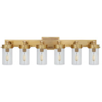 Visual Comfort TOB2317HAB-CG Thomas OBrien Marais 6 Light 13 inch Hand-Rubbed Antique Brass Bath Wall Light