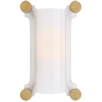 Visual Comfort TOB2325HAB-WG Thomas OBrien Chirac 1 Light 9 inch Hand-Rubbed Antique Brass Sconce Wall Light Small