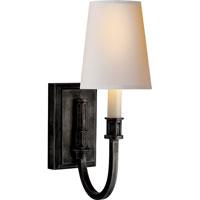 Visual Comfort TOB2327BZ-NP Thomas OBrien Modern 1 Light 5 inch Bronze Decorative Wall Light