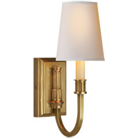 Visual Comfort TOB2327HAB-NP Thomas O'Brien Modern 1 Light 5 inch Hand-Rubbed Antique Brass Decorative Wall Light