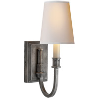 Visual Comfort TOB2327SN-NP Thomas O'Brien Modern 1 Light 5 inch Sheffield Nickel Decorative Wall Light