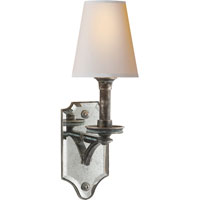 Visual Comfort Thomas OBrien Verona 1 Light Decorative Wall Light in Sheffield Nickel TOB2330SN-NP