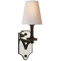 Visual Comfort TOB2330WI-NP Thomas OBrien Verona 1 Light 6 inch Weathered Iron Decorative Wall Light