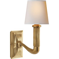 Visual Comfort Thomas OBrien Gallois 1 Light 5 inch Hand-Rubbed Antique Brass Decorative Wall Light TOB2335HAB-NP - Open Box