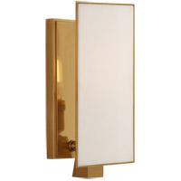 Visual Comfort TOB2340HAB-L Thomas OBrien Albertine 1 Light 4 inch Hand-Rubbed Antique Brass Sconce Wall Light Petite