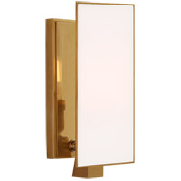 Visual Comfort TOB2340HAB-WG Thomas O'Brien Albertine 1 Light 4 inch Hand-Rubbed Antique Brass Sconce Wall Light, Petite
