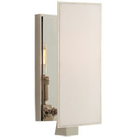 Visual Comfort TOB2340PN-L Thomas O'Brien Albertine 1 Light 4 inch Polished Nickel Sconce Wall Light, Petite