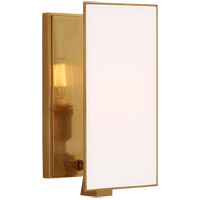 Visual Comfort TOB2341HAB-WG Thomas O'Brien Albertine 1 Light 6 inch Hand-Rubbed Antique Brass Sconce Wall Light, Small
