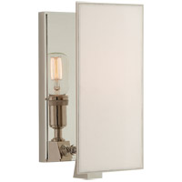 Visual Comfort TOB2341PN-L Thomas OBrien Albertine 1 Light 6 inch Polished Nickel Sconce Wall Light Small