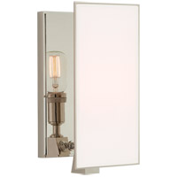 Visual Comfort TOB2341PN-WG Thomas OBrien Albertine 1 Light 6 inch Polished Nickel Sconce Wall Light Small