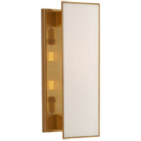 Visual Comfort TOB2342HAB-L Thomas O'Brien Albertine 2 Light 7 inch Hand-Rubbed Antique Brass Sconce Wall Light, Medium