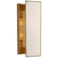 Visual Comfort TOB2342HAB-L Thomas OBrien Albertine 2 Light 7 inch Hand-Rubbed Antique Brass Sconce Wall Light Medium