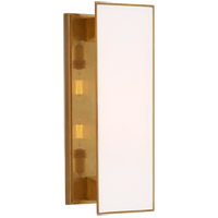 Visual Comfort TOB2342HAB-WG Thomas O'Brien Albertine 2 Light 7 inch Hand-Rubbed Antique Brass Sconce Wall Light, Medium