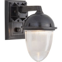 Visual Comfort Thomas OBrien Garey 1 Light Bath Wall Light in Bronze with Wax TOB2405BZ-CG