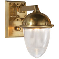 Visual Comfort TOB2405HAB-CG Thomas OBrien Garey 1 Light 7 inch Hand-Rubbed Antique Brass Bath Wall Light