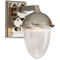 Visual Comfort TOB2405PN-CG Thomas Obrien Garey 1 Light 7 inch Polished Nickel Bath Wall Light