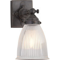 Visual Comfort Thomas OBrien Garey 1 Light Bath Wall Light in Bronze with Wax TOB2406BZ-CG