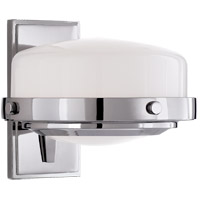 Visual Comfort TOB2511PN-WG Thomas OBrien Connor 1 Light 8 inch Polished Nickel Bath Sconce Wall Light