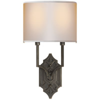 Visual Comfort TOB2600BZ-NP Thomas OBrien Silhouette 2 Light 9 inch Bronze Decorative Wall Light