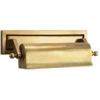 Thomas OBrien Library 40 watt 11 inch Hand-Rubbed Antique Brass Picture Light Wall Light