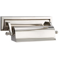 Visual Comfort Thomas OBrien Library 1 Light Picture Light in Polished Nickel TOB2604PN