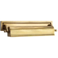 Thomas OBrien Library 80 watt 18 inch Hand-Rubbed Antique Brass Picture Light Wall Light