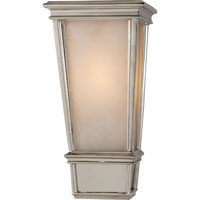 Visual Comfort Thomas OBrien Laurent 1 Light Bath Wall Light in Polished Nickel TOB2702PN-ALB