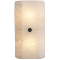 Visual Comfort Thomas OBrien Roberto 2 Light Decorative Wall Light in Alabaster Natural Stone TOB2711ALB