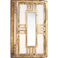 Visual Comfort Thomas OBrien Enrique 1 Light Bath Wall Light in Gilded Iron with Wax TOB2720GI