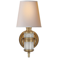 Thomas Obrien Jonathan 1 Light 6 inch Natural Quartz Stone Decorative Wall Light